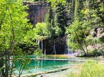 hängande lakes royaltyfri foto