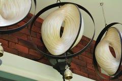 hängande lampa Arkivfoton