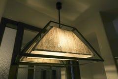 hängande lampa Arkivbild