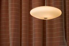 hängande lampa Arkivfoto