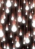 hängande lampor Royaltyfri Foto