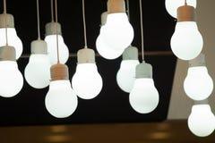 hängande lampor Royaltyfri Bild