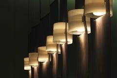 hängande lampor arkivfoton