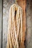 Hängande rep. Royaltyfri Foto
