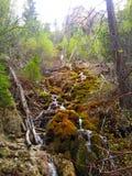 Hängande sjö, Colorado Arkivfoto