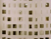 hängande spegelförsedda fyrkanter Royaltyfri Fotografi