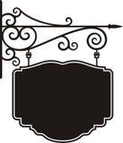 hängande tecken Royaltyfri Fotografi