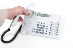 hängande telefon upp royaltyfri foto