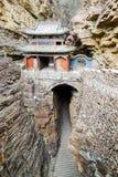 Hängande tempel, Hebei Fotografering för Bildbyråer