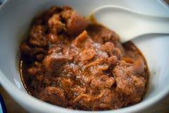 Hängd-lae curry royaltyfria bilder