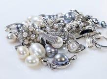 Hänge med diamanter Royaltyfri Fotografi