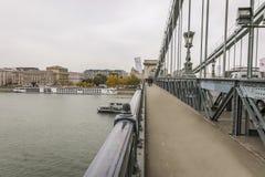 Hängebrücke Stockfotografie