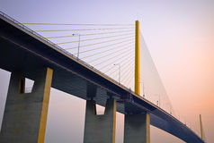 Hängebrücke Lizenzfreie Stockfotos