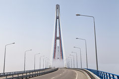 Hängebrücke Lizenzfreie Stockbilder