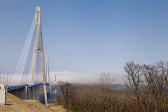 Hängebrücke Lizenzfreies Stockbild