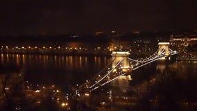 Hängebrücke stock video