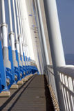 Hängebrücke 2 stockfotografie