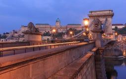 Hängebrücke Stockfotos