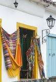 Hängematten in Paraty, Rio de Janeiro Lizenzfreie Stockbilder