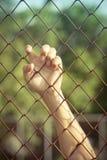 Hängen im Gefängnis stockfotografie