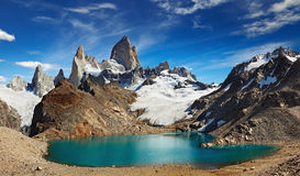Hängen Sie Fitz Roy, Patagonia, Argentinien ein Lizenzfreies Stockbild