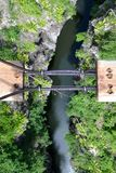 Hängende Brücke 2 Lizenzfreie Stockfotos