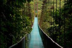 Hängende Brücke Lizenzfreie Stockfotos