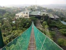Hängende Brücke Lizenzfreie Stockbilder
