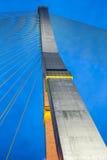 Hängende Brücke in Bangkok Lizenzfreie Stockfotos