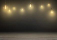 Hängende Fühler Freier Raum für Text, Wand im Hintergrund Lizenzfreie Stockfotografie