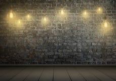 Hängende Fühler Freier Raum für Text, Wand im Hintergrund Lizenzfreies Stockbild