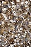 Hängende Haken des Feldes Metall lizenzfreie stockfotografie