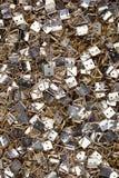 Hängende Haken des Feldes Metall lizenzfreies stockbild