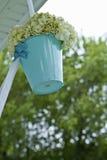 Hängende Hochzeitsblumen Lizenzfreies Stockfoto