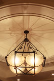 Hängende Lampe Stockfotografie
