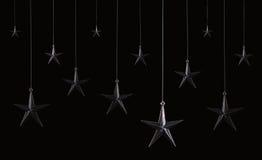 Hängende Sterne Stockfotos