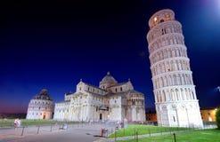 Hängender Kontrollturm von Pisa Lizenzfreies Stockfoto