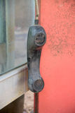 Hängender Telefonhandapparat Stockbilder