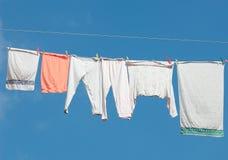 Hängendes heraus sich waschen stockfotos