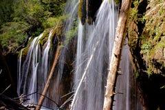 Hängendes See-Wasserfall-Detail Lizenzfreie Stockfotografie