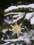 Hängendes Weihnachten der unterschiedlichen Weihnachtsdekoration Stockfotografie