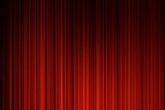 hänger upp gardiner film Arkivfoto