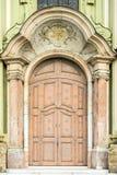 Hänrycka av kyrka Arkivbilder