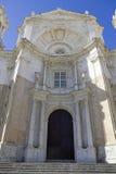 Hänrycka av ny domkyrka på Cadiz. Fotografering för Bildbyråer