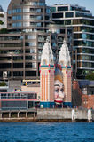 Luna Park Sydney, Australien Royaltyfria Bilder