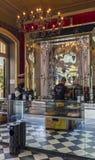 Hänrycka till en café på ön av madeiran royaltyfri fotografi