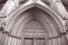 Hänrycka till Westminster abbeyen i London Royaltyfri Bild