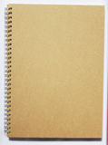 här din spiral tex för anteckningsbok fotografering för bildbyråer