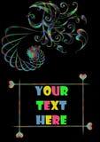 här din text arkivfoton