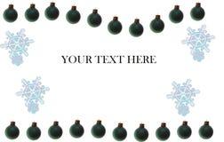 här din text Royaltyfri Foto